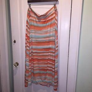 Lanr Bryant Desert Sky Maxi Skirt